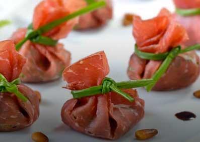 fagottini bresaola rucola