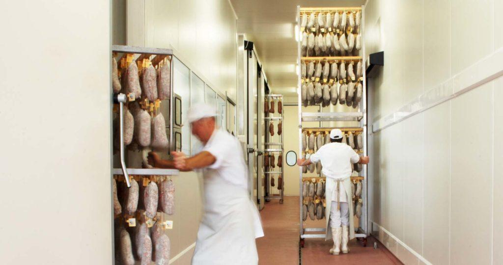 lavorazione della carne