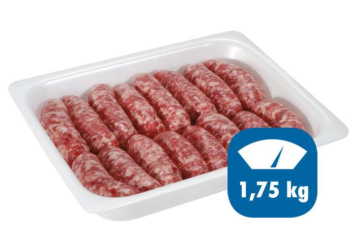 salsiccia fresca 1,75kg
